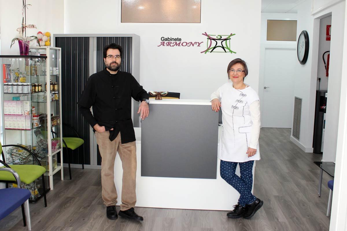 Rafael Sarrión y María Jesús Herrero - Gabinete Armony